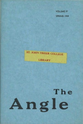 Angle 1959, Volume 4, issue 1
