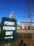 A Day in Pittsford, NY: Permit Parking, 2013