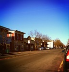 """On a quiet blissful afternoon in the town, """"Where Life Is Worth Living,"""" Webster, NY"""